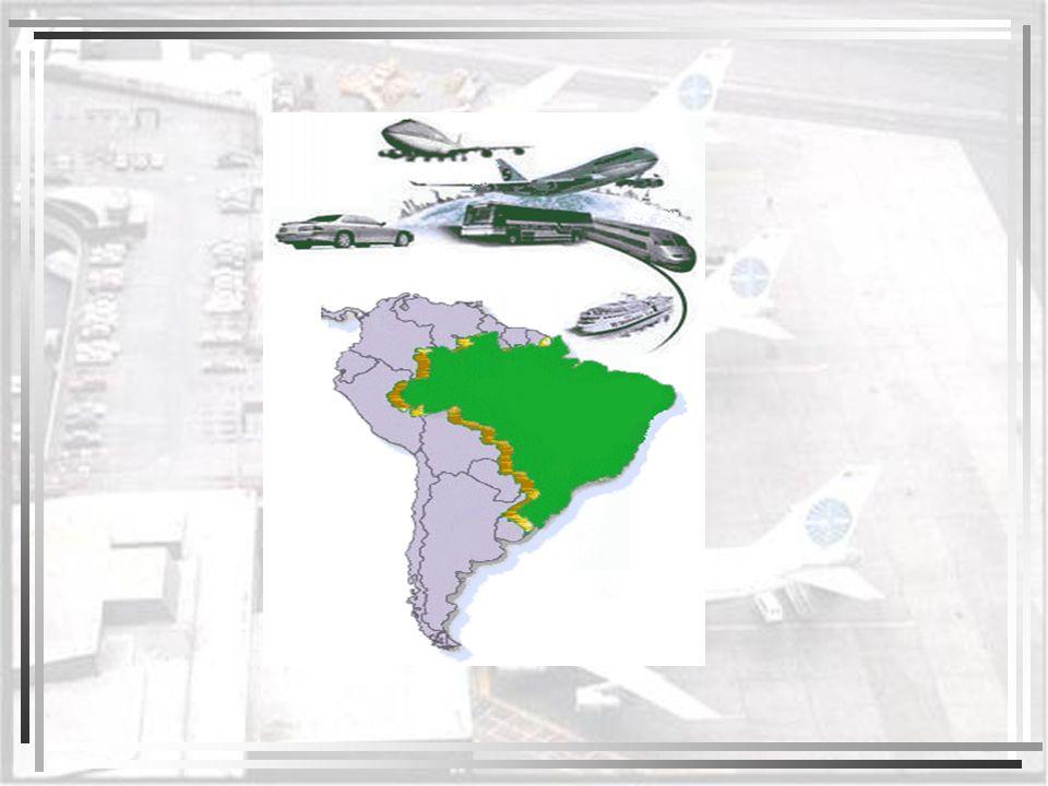 Até a década de 1950, a economia brasileira se fundava na exportação de produtos primários, e com isso o sistema de transportes limitou-se aos transportes fluvial e ferroviário.