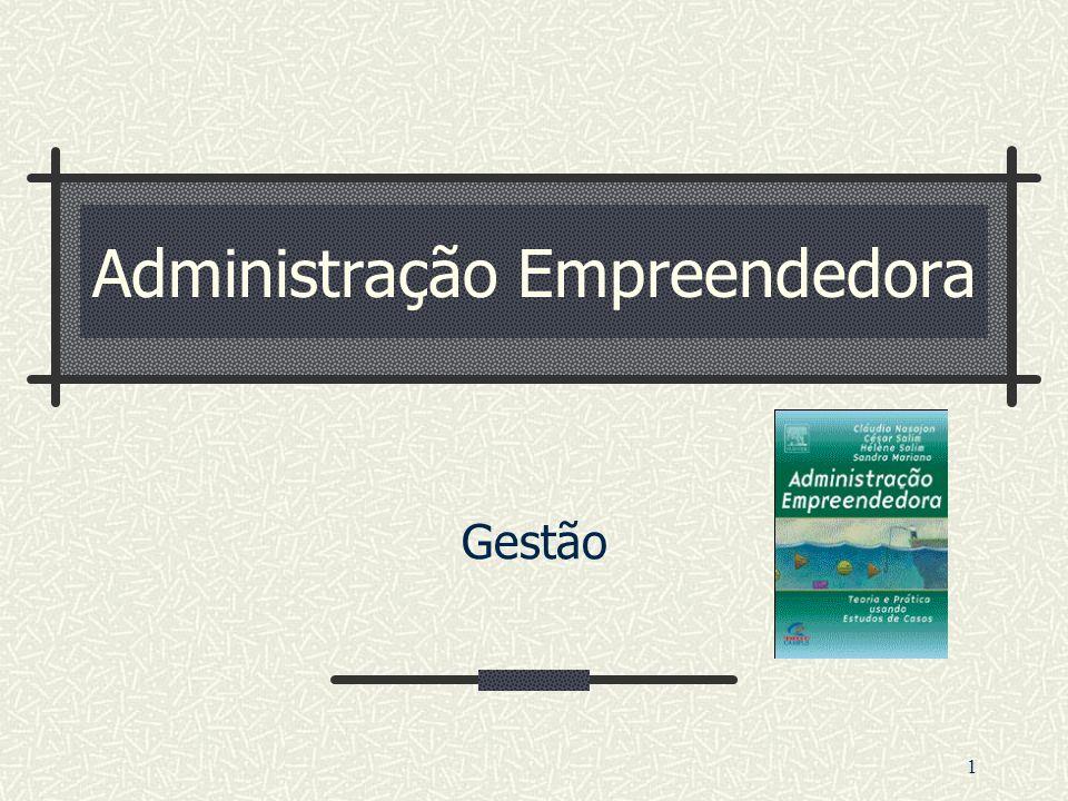 1 Administração Empreendedora Gestão