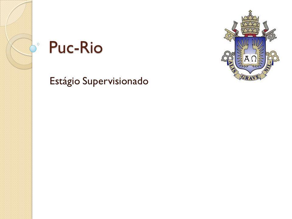 Puc-Rio Estágio Supervisionado
