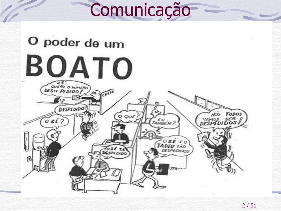 2 / 51 Comunicação