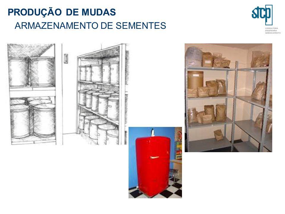 PRODUÇÃO DE MUDAS ARMAZENAMENTO DE SEMENTES