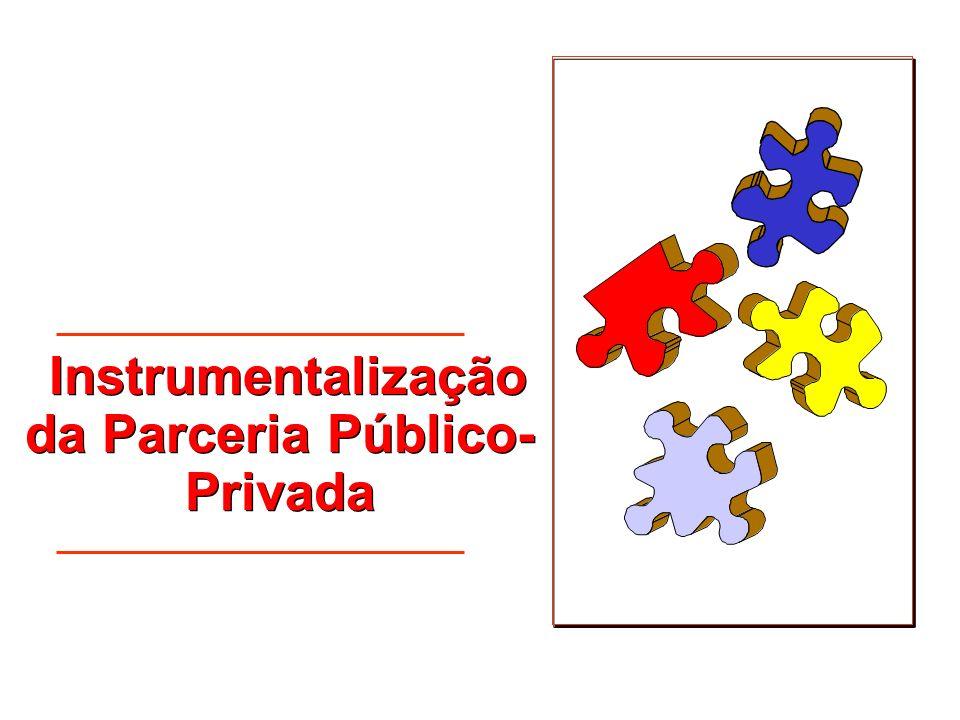 Instrumentalização da Parceria Público- Privada