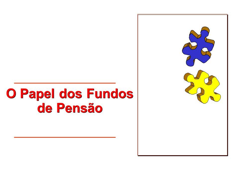 O Papel dos Fundos de Pensão