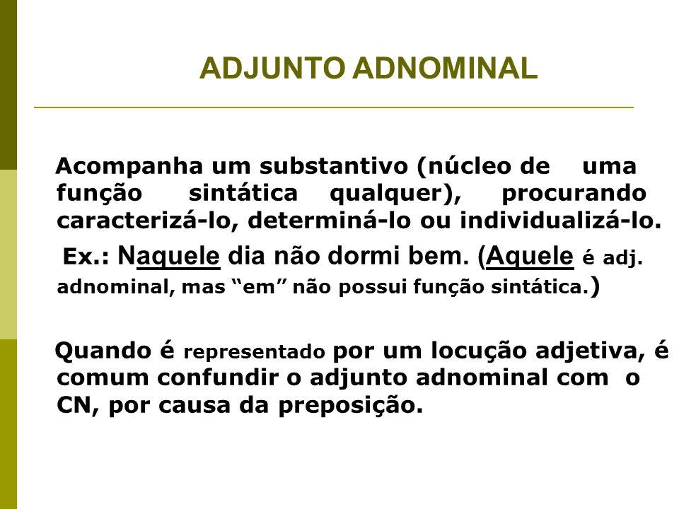 CN X ADJ.ADNOMINAL Adj.