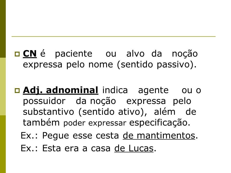 Ex.: A invenção de palavras caracteriza a obra de Guimarães Rosa.