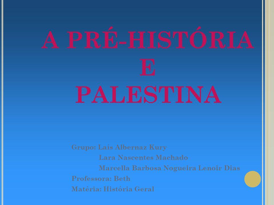 PRÉ-HISTÓRIA O período pré-histórico, conta com um riquíssimo aparato documental que relata as descobertas e costumes do homem.
