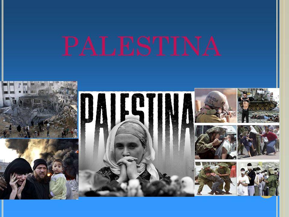 Palestina É uma estreita faixa de terra localizada no litoral mediterrâneo da Ásia Uma passagem estratégica entre a Ásia e a África, a Palestina, desde tempos remotos, tem sido palco de disputas entre povos e impérios.