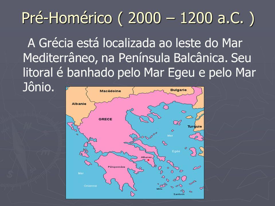 A civilização cretense foi a primeira a se fixar na região insular do mundo grego.
