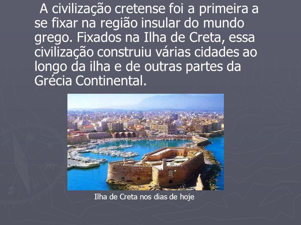 Segundo relatos históricos, os cretenses foram fundadores do 1º império marítimo, utilizando madeiras para construir navios de até 20 metros de comprimento.