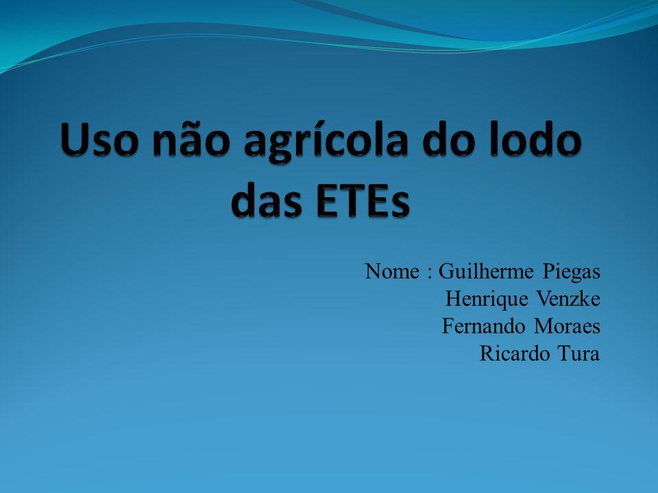 Nome : Guilherme Piegas Henrique Venzke Fernando Moraes Ricardo Tura