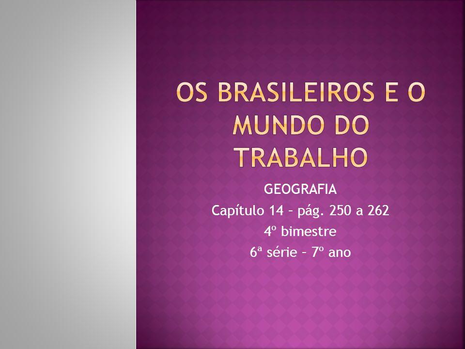 Participam do mercado de trabalho brasileiro cerca de 86 milhões de pessoas, praticamente a metade da população total do país, estimada em cerca de 172 milhões, segundo dados do IBGE de 2003.