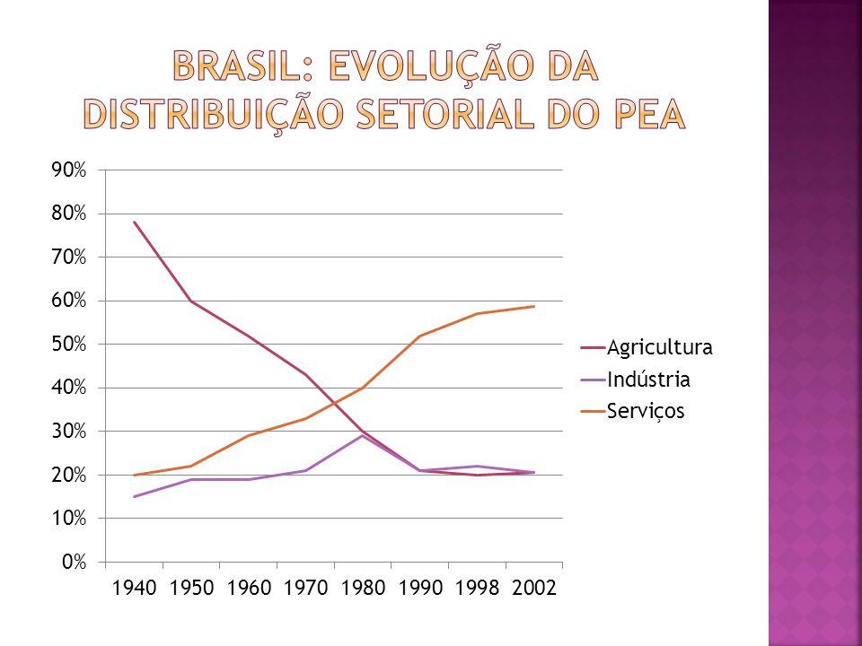 A elevada concentração de renda no Brasil é uma das causas dos problemas sociais que o país enfrenta.