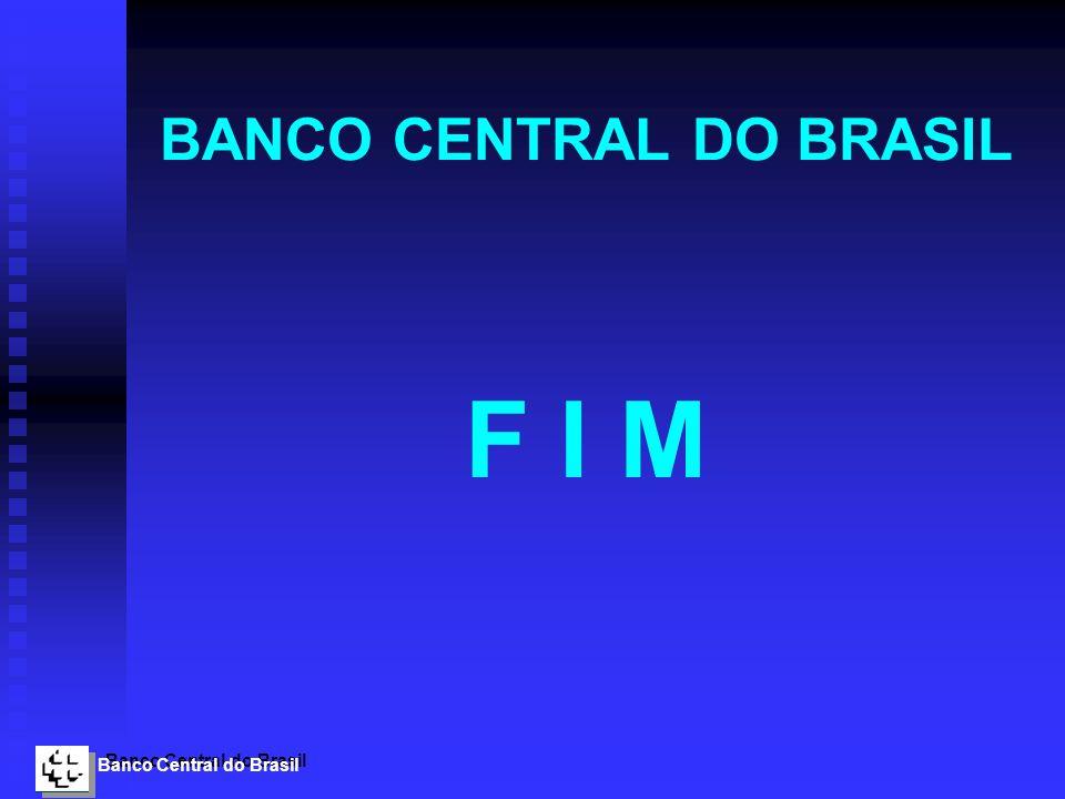 Banco Central do Brasil BANCO CENTRAL DO BRASIL F I M