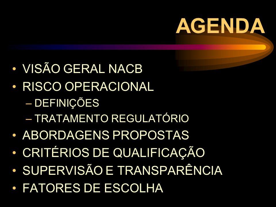 VISÃO GERAL NACB