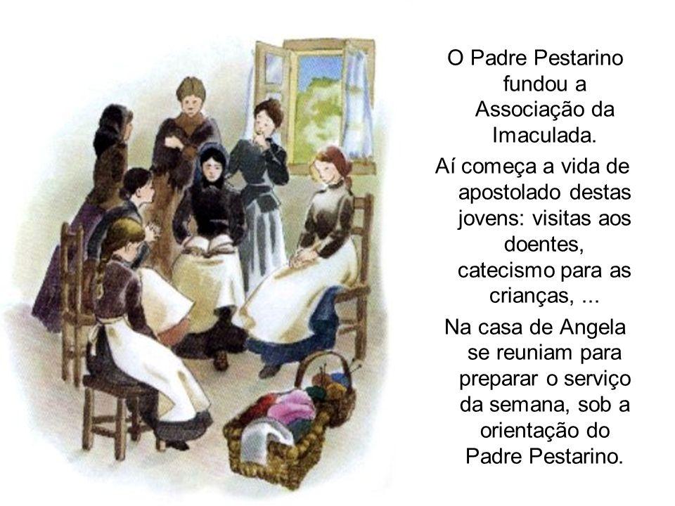 O Padre Pestarino fundou a Associação da Imaculada. Aí começa a vida de apostolado destas jovens: visitas aos doentes, catecismo para as crianças,...