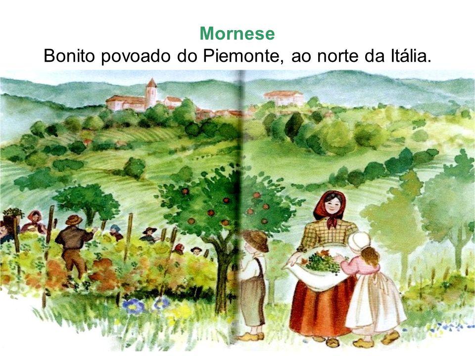 Em 09 de março de 1837, nasce Maria Domingas Mazzarello, primeira filha de José Mazzarello e Maria Madalena.