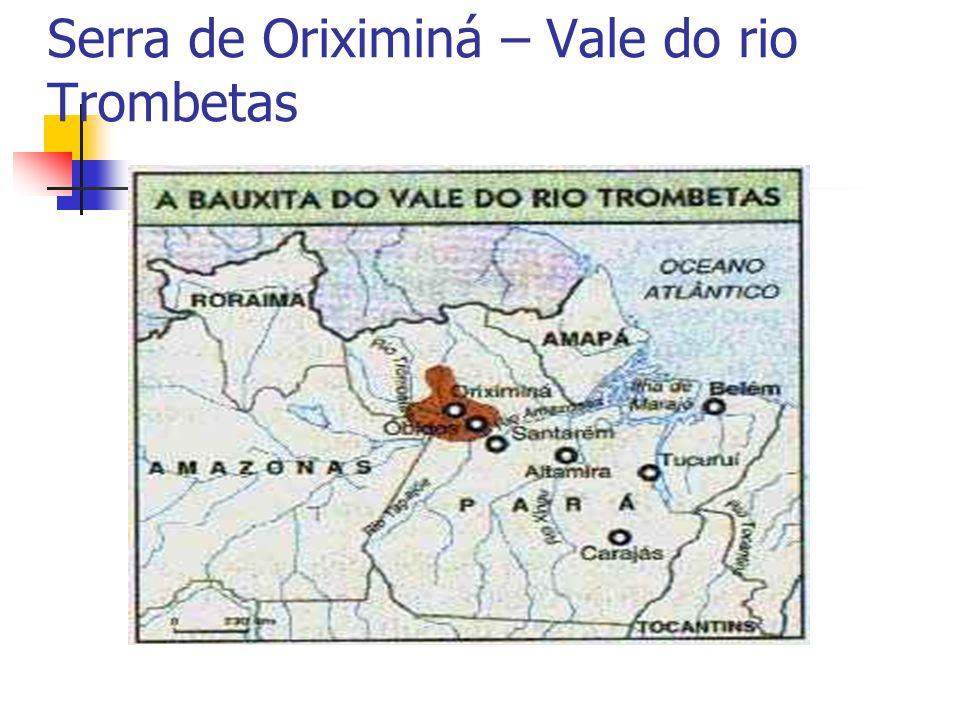 Serra de Oriximiná – Vale do rio Trombetas