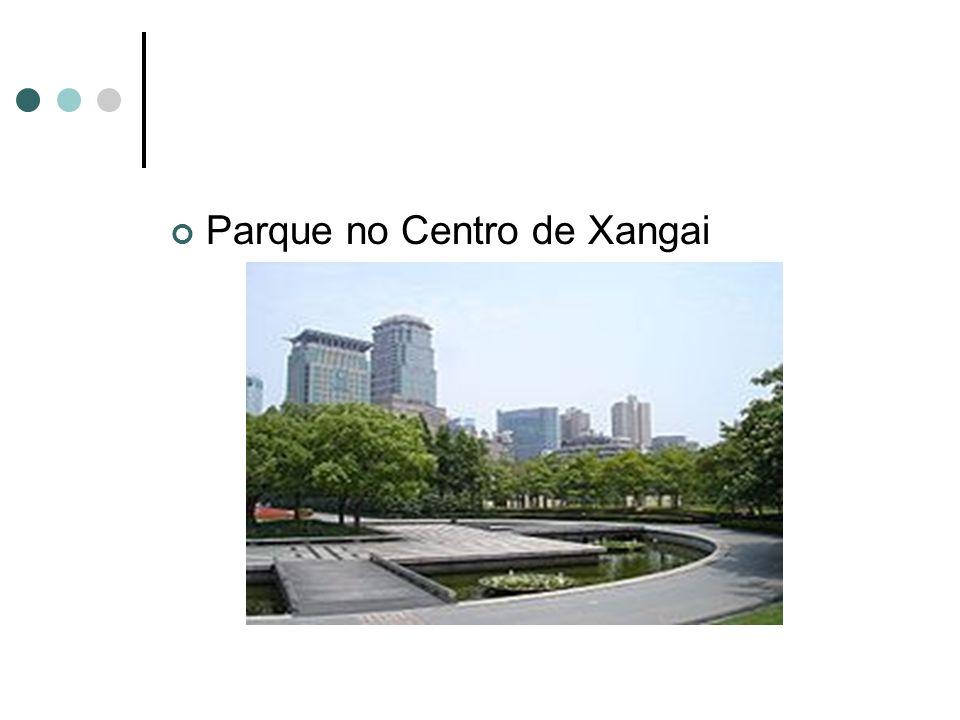 Parque no Centro de Xangai