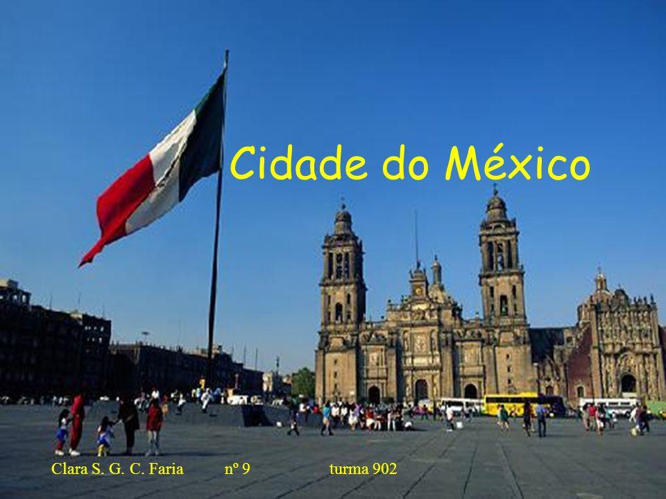Bibliografia http://www.portalsaofrancisco.com.br/alfa/mexico/cidade-do-mexico- 2.phphttp://www.portalsaofrancisco.com.br/alfa/mexico/cidade-do-mexico- 2.php http://pt.wikipedia.org/wiki/Cidade_do_M%C3%A9xico#Cultura http://www.imagenesanimadas.net/Mundial/Mexico.asp