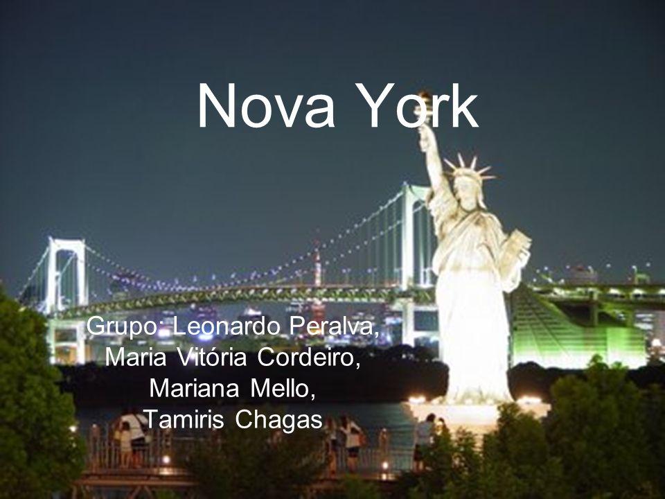 Nova York Grupo: Leonardo Peralva, Maria Vitória Cordeiro, Mariana Mello, Tamiris Chagas