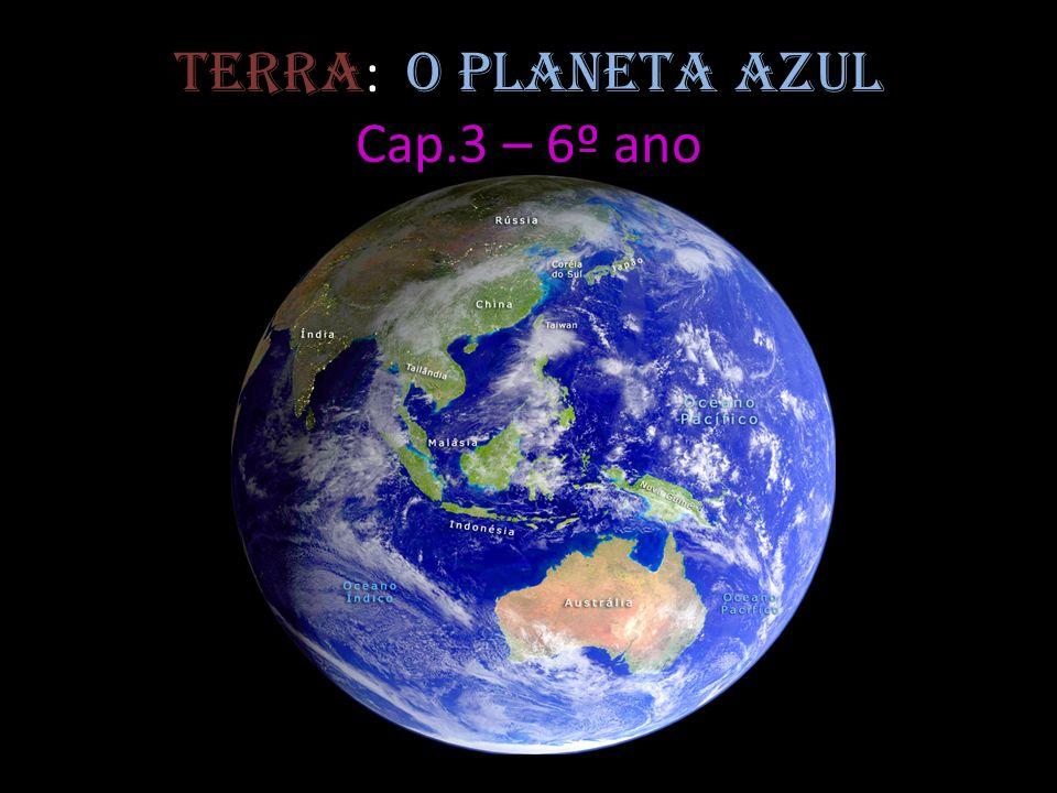 Terra : o planeta azul Cap.3 – 6º ano