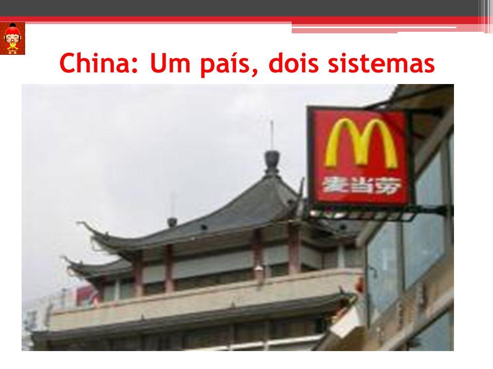 China: Um país, dois sistemas