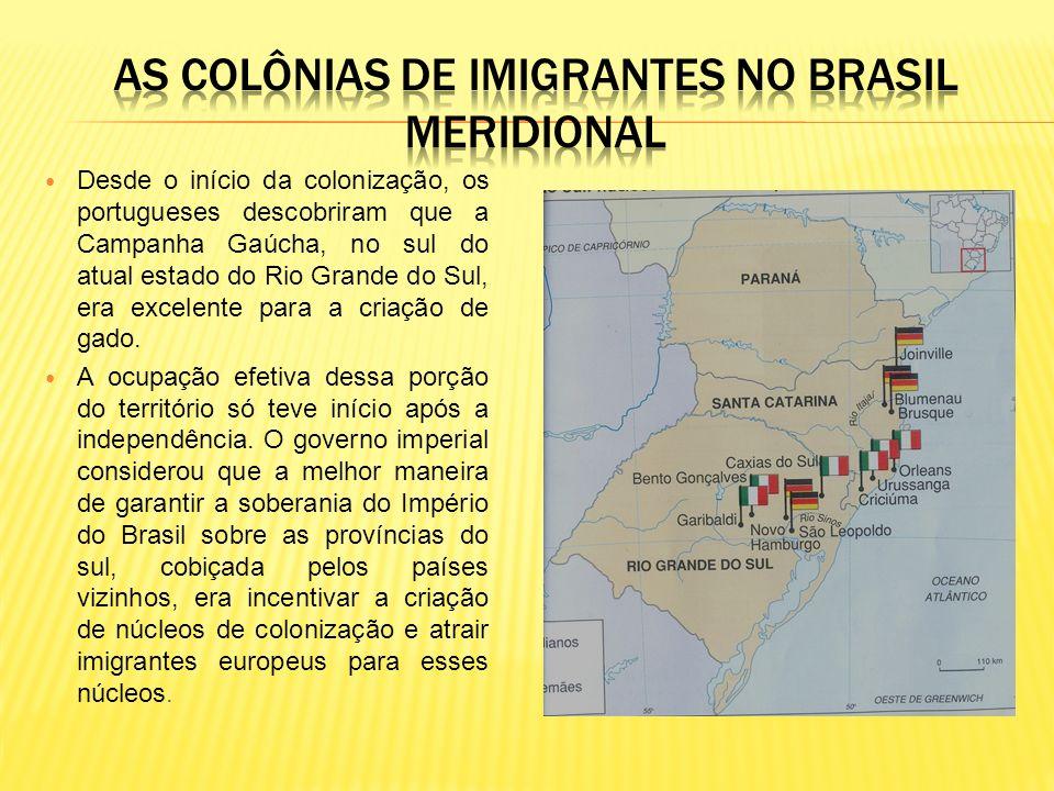 Desde o início da colonização, os portugueses descobriram que a Campanha Gaúcha, no sul do atual estado do Rio Grande do Sul, era excelente para a criação de gado.