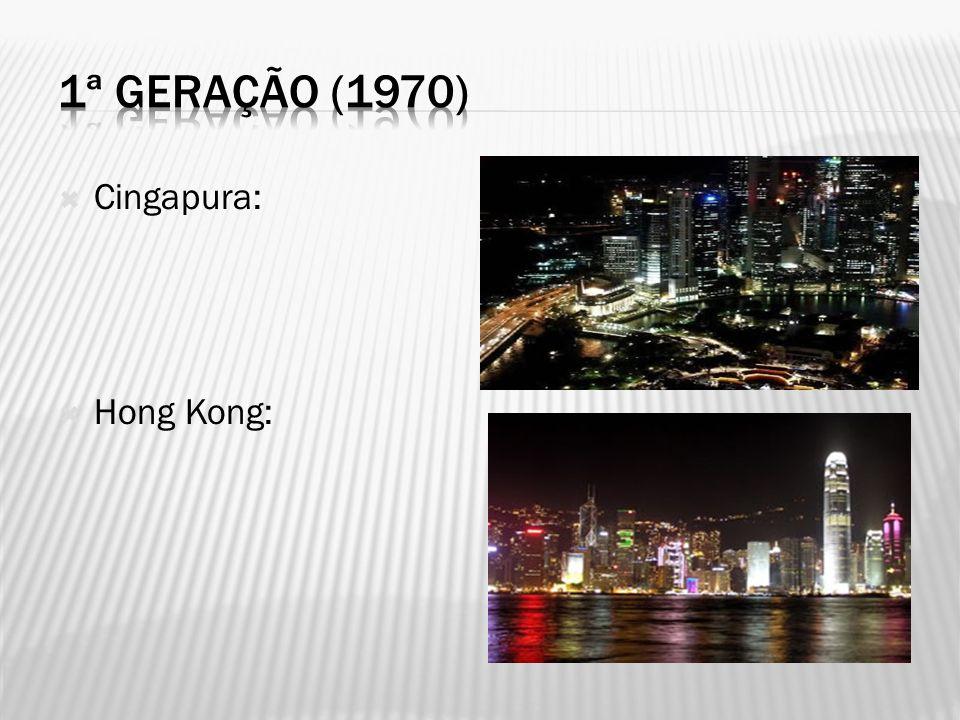 Cingapura: Hong Kong: