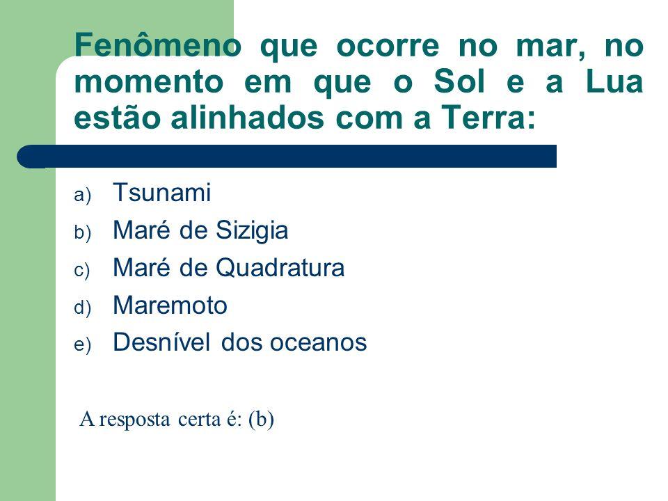 Exemplo de mar semi-aberto ou semi-fechado: a) Mar da Arábia b) Mar das Antilhas c) Mar do Caribe d) Mar Mediterrâneo e) Mar do Norte A resposta certa