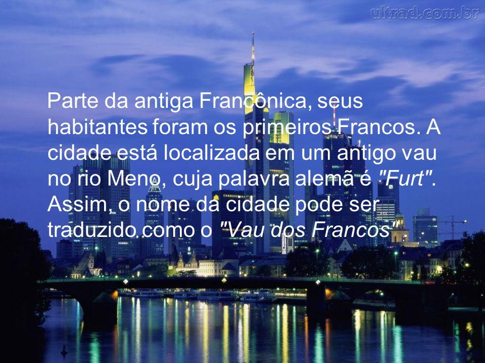 Parte da antiga Francônica, seus habitantes foram os primeiros Francos.