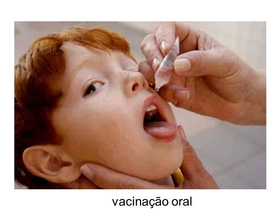 vacinação oral