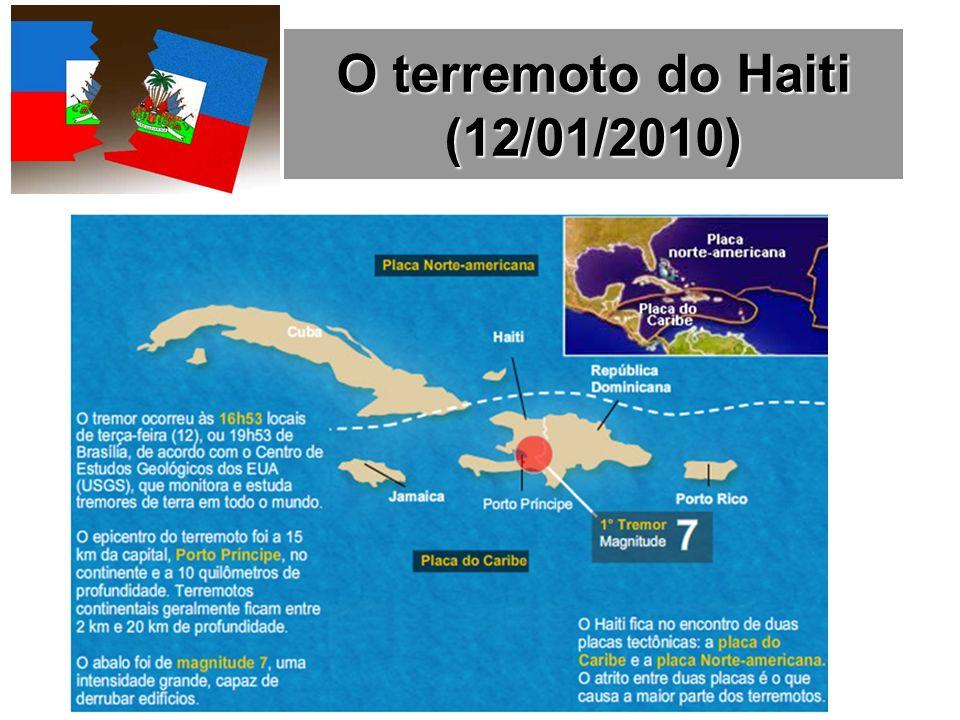 O terremoto do Haiti (12/01/2010)