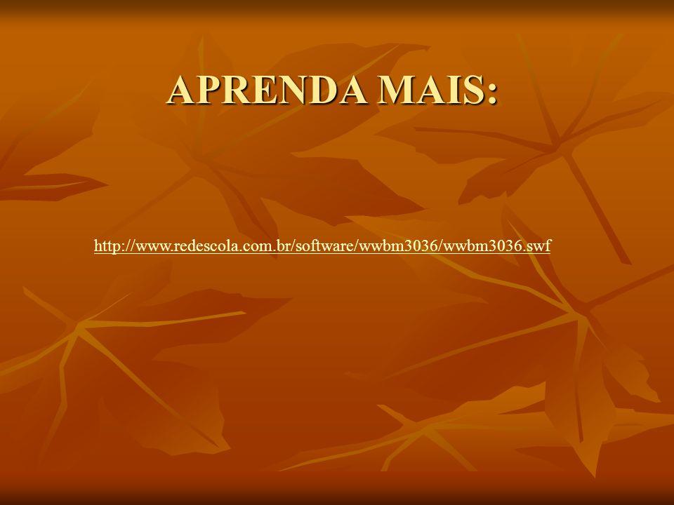 APRENDA MAIS: http://www.redescola.com.br/software/wwbm3036/wwbm3036.swf