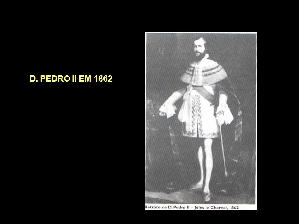 D. PEDRO II EM 1840