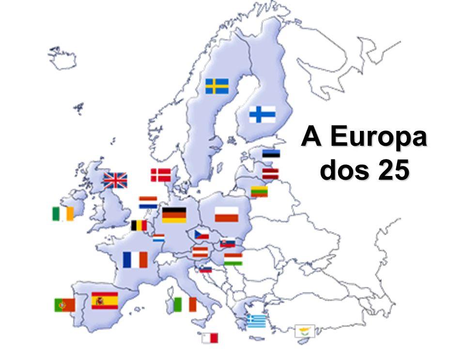 A Europa dos 25