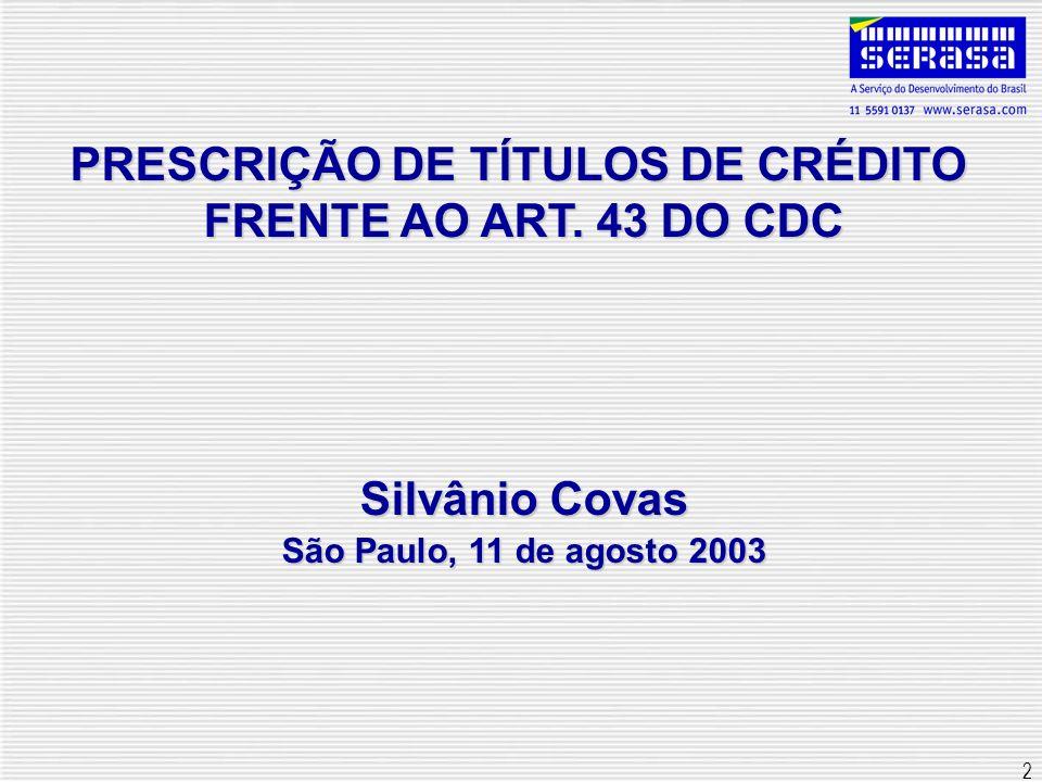 13 Prescrição de título de crédito no CC Art.206 do CC: Prescreve:Art.