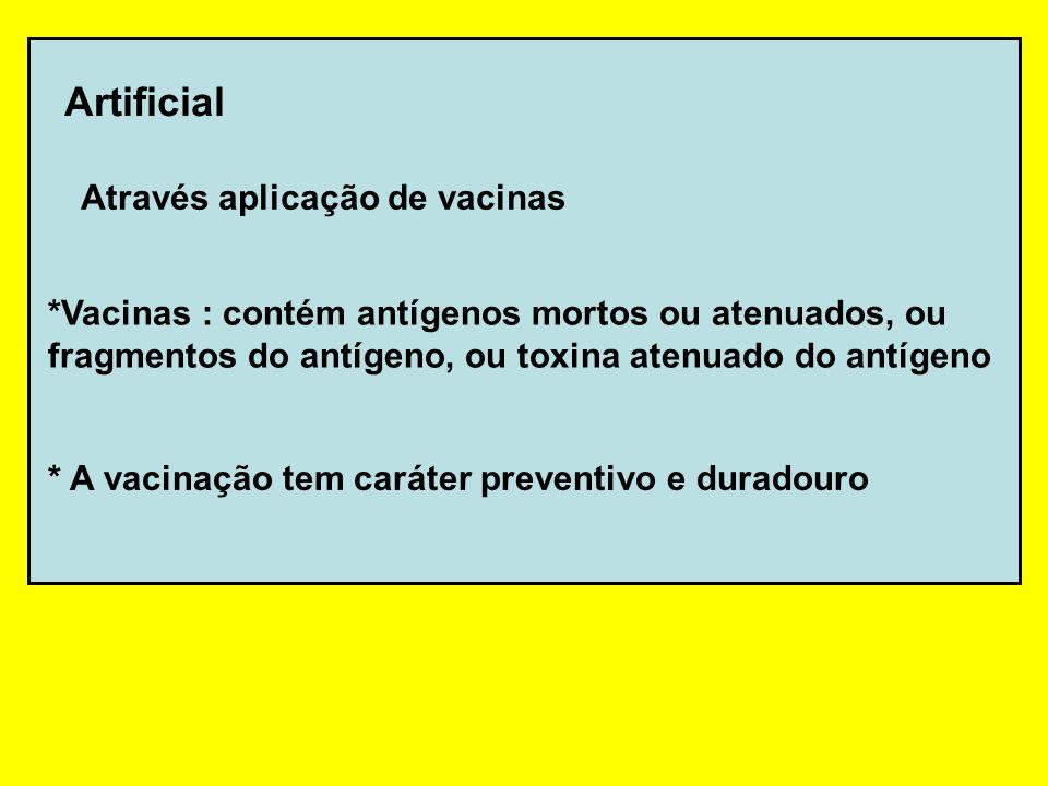 vacinação oralvacinação intra-venosa