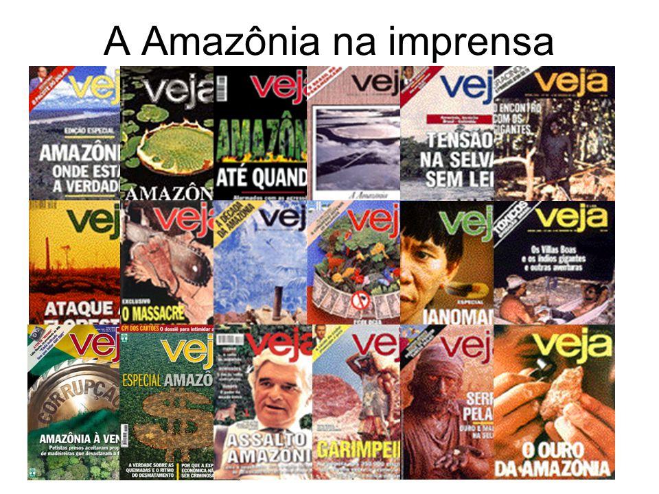 A Amazônia na imprensa