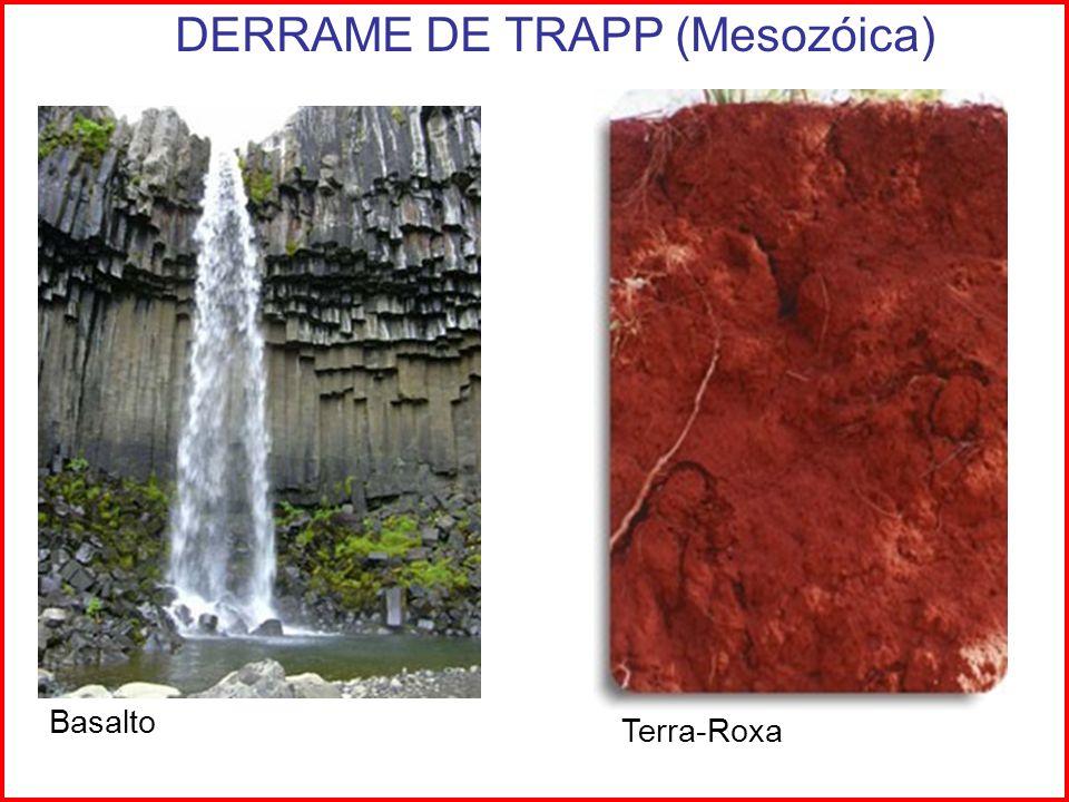 Basalto Terra-Roxa DERRAME DE TRAPP (Mesozóica)