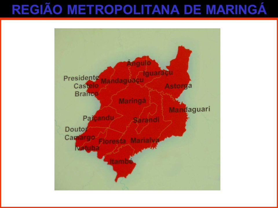 REGIÃO METROPOLITANA DE MARINGÁ