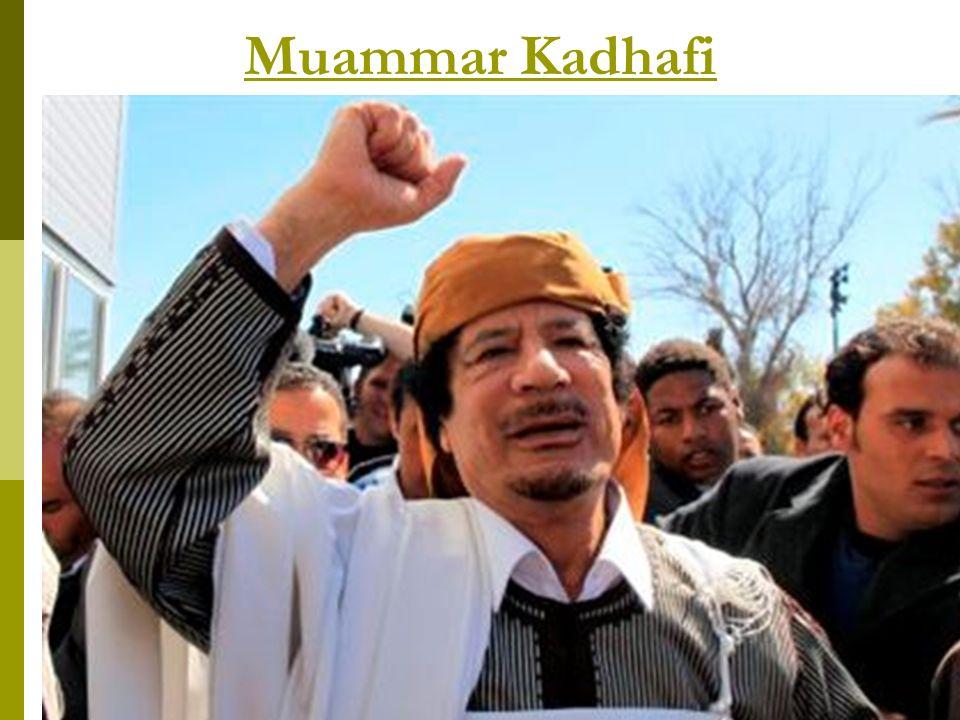 Muammar Kadhafi