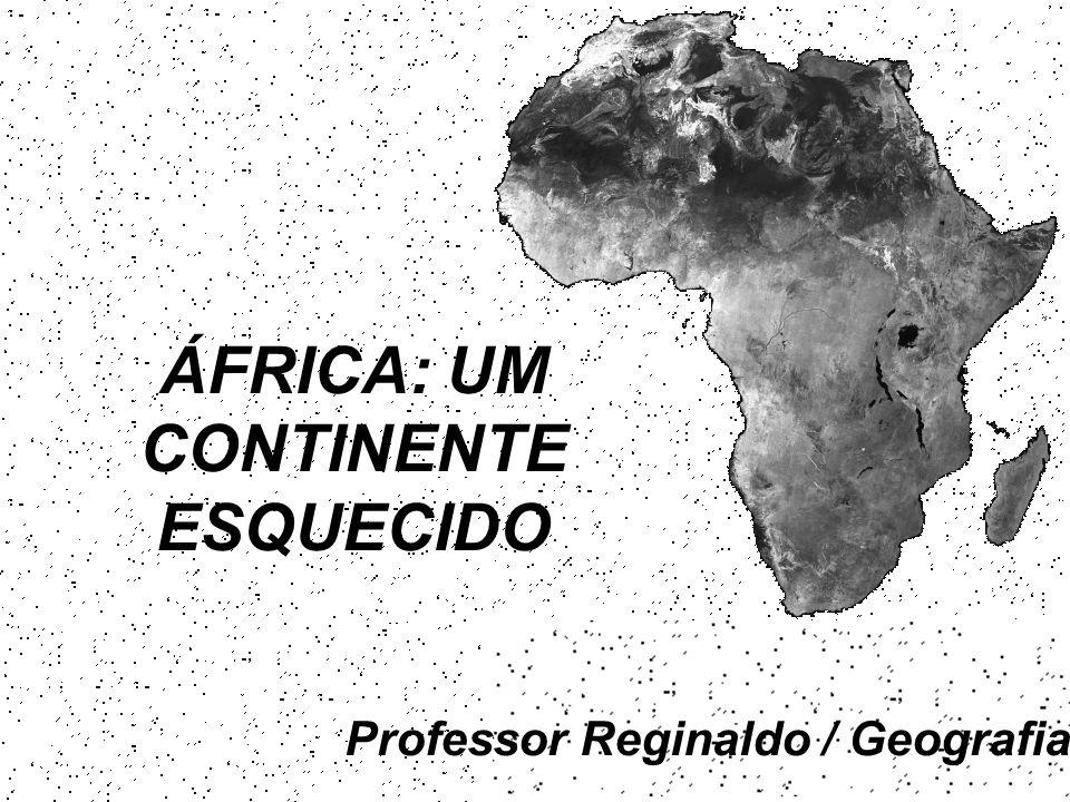 Professor Reginaldo / Geografia ÁFRICA: UM CONTINENTE ESQUECIDO