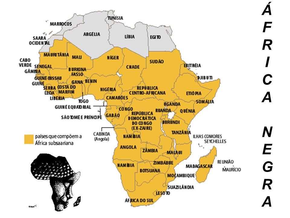 ÁFRICA NEGRAÁFRICA NEGRA