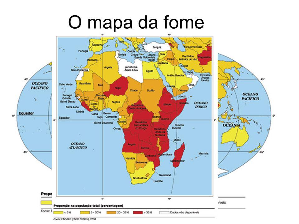 O mapa da fome