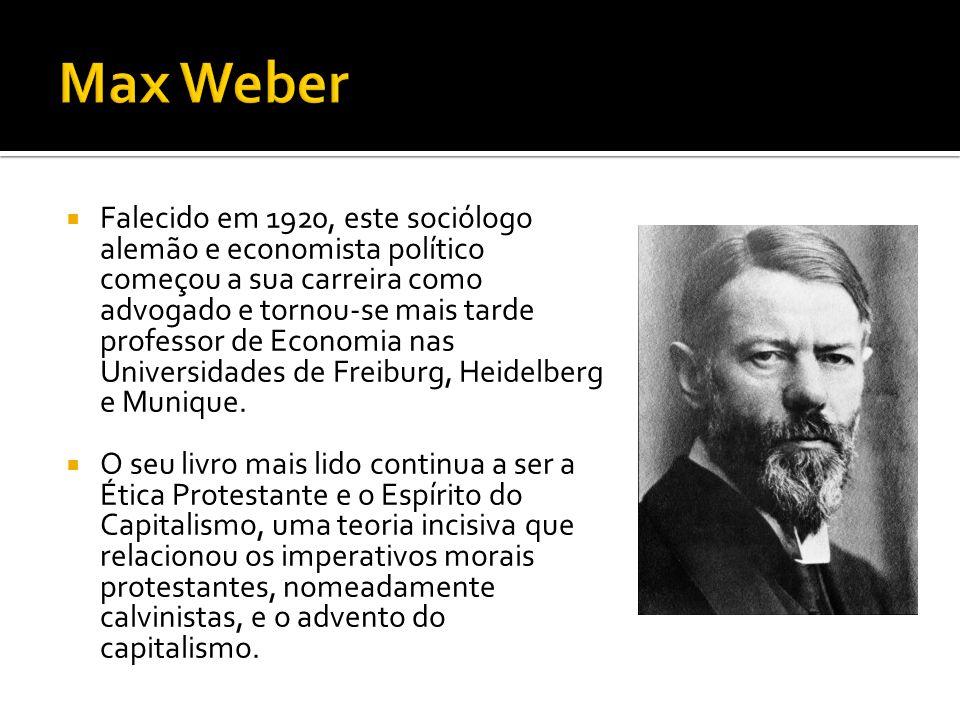 Max Weber garantiu um lugar cativo na história da gestão devido à sua teoria da burocracia, que assenta nos princípios da hierarquia e da autoridade de comando como a forma de organização estrutural ideal para todas as empresas.