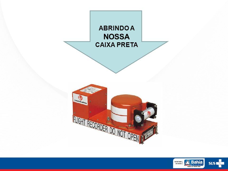 ABRINDO A NOSSA CAIXA PRETA