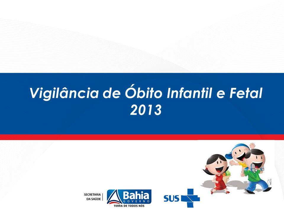 Principais grupos de causas de óbitos fetais.Regiões de Saúde de Camaçari e Salvador, 2011.