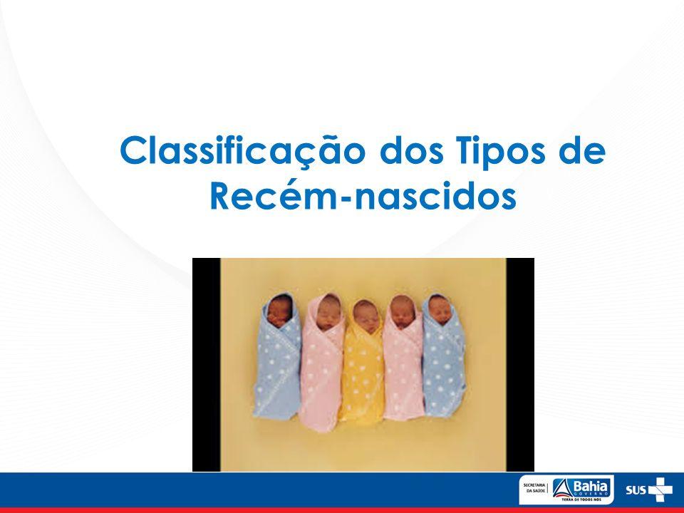 Classificação dos Tipos de Recém-nascidos