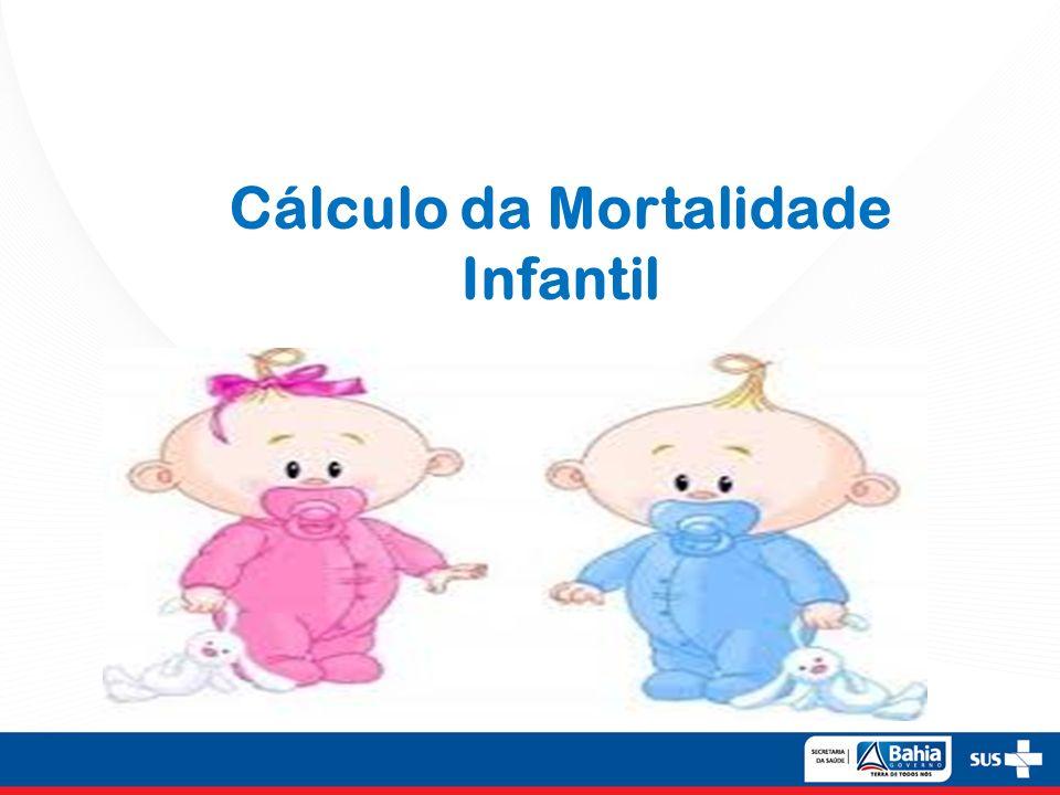 Cálculo da Mortalidade Infantil