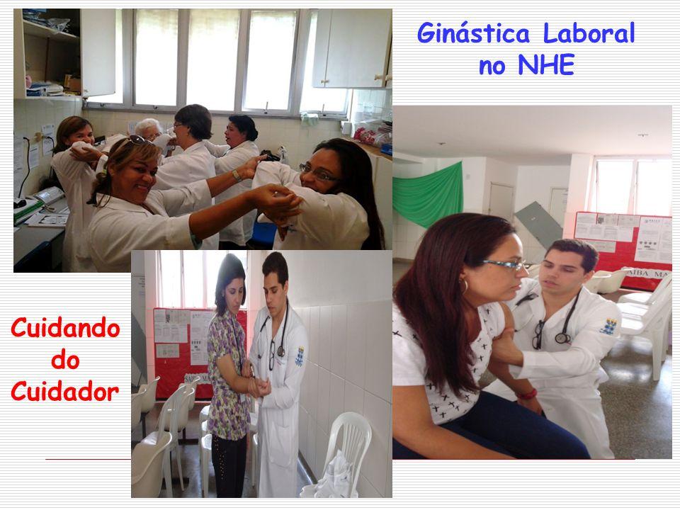 Cuidando do Cuidador Ginástica Laboral no NHE